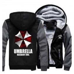 Jaqueta Resident Evil Umbrella - Preta