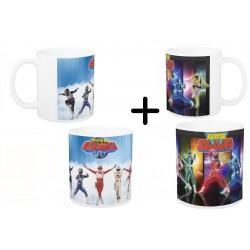 (Promoção) 2 Canecas 1 Changeman e 1 Flashman - Modelos 01