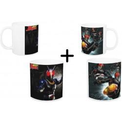 (Promoção) 2 Canecas Kamen Rider Black - Modelo 01 e 02