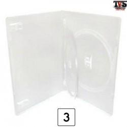Box Estojo e Encarte para séries de até 3 DVDs