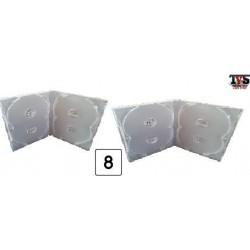 Boxes Estojos e Encartes para séries de até 8 DVDs