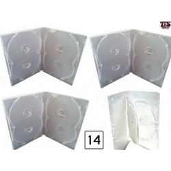 Boxes Estojos e Encartes para séries de até 14 DVDs