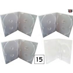 Boxes Estojos e Encartes para séries de até 15 DVDs