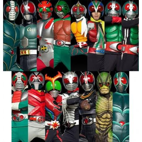 Pacote Combo Econômico 02 - Kamen Riders Showa