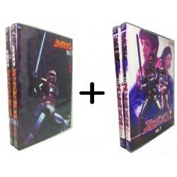 Pacote Combo Luxo 01 - O Fantástico Jaspion + Guerreiro Dimensional Spielvan Box