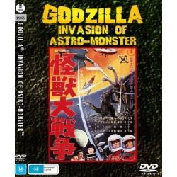 Filme: Godzilla Invasion of Astro-Monster/Monster Zero 1965 (Digital)