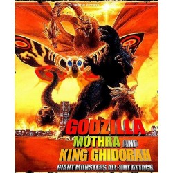 Filme: Godzilla, Mothra and King Ghidorah: Giant Monsters All-Out Attack 2001 (Digital)