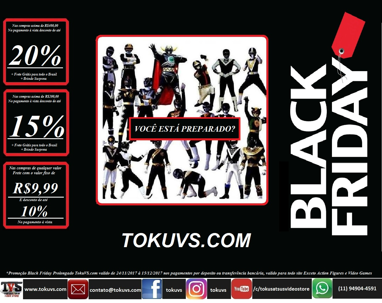 Black Friday TokuVS.com